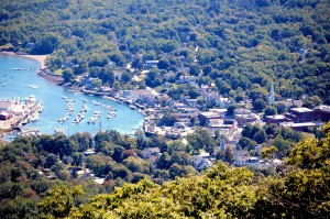 A View from Atop Mt. Battie - Camden, Maine