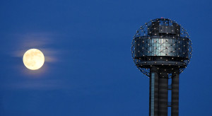 Buck Moon and Reunion Tower